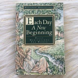 Each Day A New Beginning Book